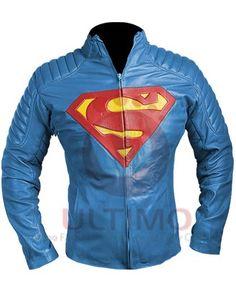 #Superman #ManOfSteel #Clark #Kent #Leather #Jacket #celebrties #fashions #menswear #clothing