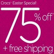 Crocs Australia: Save 75% Online + FREE Shipping! - Free Samples Australia