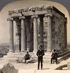 Templo de Atenea Niké-Acrópolis de Atenas