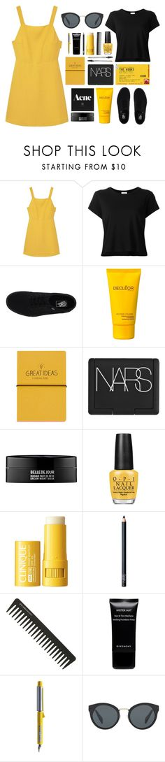 """""""THE KOOKS"""" by m-phil ❤ liked on Polyvore featuring MANGO, RE/DONE, Vans, Decléor, Topshop, NARS Cosmetics, Kenzoki, OPI, Clinique and GHD"""