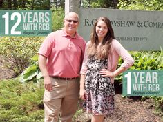 Today, we celebrate two workiversaries! Congratulations to Jeremy and Brianne on their dedication to R.C. Brayshaw & Company. May we celebrate many more with you!
