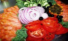 Rolled Lox Platter   Kosher Recipes