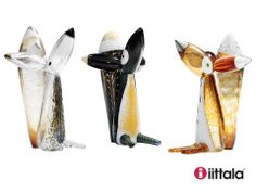 Vulpes Vulpes. Unique collection of 11 pieces of glass works by Klaus Haapaniemi for Iittala