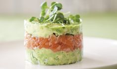 Annabel Langbein's Salmon Avocado Towers