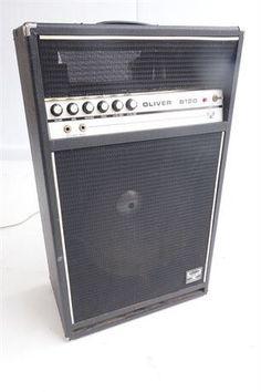 Vintage Oliver B120 Bass Tube Amp 1970's