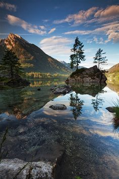 Hintersee II by Ralf Warner on 500px Places To Travel, Places To See, Beautiful World, Beautiful Places, Travel Around The World, Around The Worlds, Landscape Photography, Nature Photography, Photos Du
