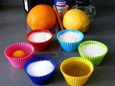Magdalenas en el microondas en 3 minutos / Muffins in 3 minutes