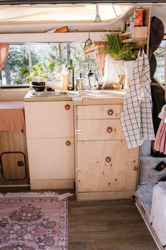 Elma, der Innenausbau: Vorher - Nachher — luna lene Vw T3 Westfalia, Vw Bus, Van Life, Vans, Camper Remodeling, Van