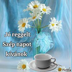 Good Morning, Glass Vase, Decor, Buen Dia, Decoration, Bonjour, Decorating, Good Morning Wishes, Deco