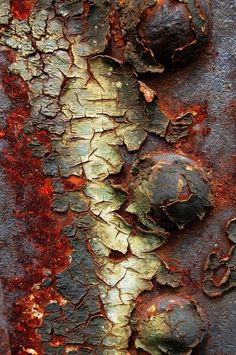 Rust | さび | Rouille | ржавчина | Ruggine | Herrumbre | Chip | Decay | Metal | Corrosion | Tarnish | Texture | Colors | Contrast | Patina | Decay | Iron