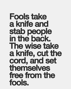 Fools & Wise people quote