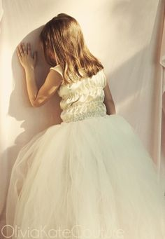 Girls Tutu size 6 7 8 by OliviaKateCouture on Etsy, $69.99