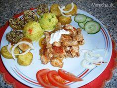 Kuracie prsia na zelenine (fotorecept) - recept   Varecha.sk Tacos, Mexican, Ethnic Recipes, Food, Essen, Meals, Yemek, Mexicans, Eten
