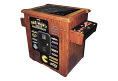 Pac Man Arcade Machine Cocktail Table. If I get this, I'll be forced to open a bar.
