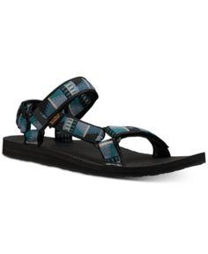 f6c2ff438 Teva Men s Original Universe Sandals - Blue 11 Blue Sandals