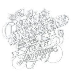Inspiring Hand-Lettering Works by Martin Schmetzer | Abduzeedo | Graphic Design Inspiration and Photoshop Tutorials