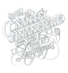 Inspiring Hand-Lettering Works by Martin Schmetzer | Abduzeedo | Graphic Design Inspiration and Photoshop Tutorials
