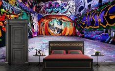 3D Wallpaper Halloween Graffiti 588 Wallpaper Mural Wall Mural Wall Murals Removable Wallpaper