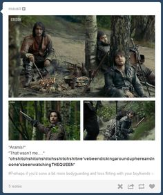 The Musketeers - 1x09 - Knight Takes Queen, hahaha, it never gets old <3