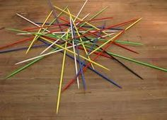 Pick up sticks! Loved playing this with my brothers & cousins