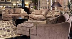 A neutral color palette in any space is a great way to keep a calm and relaxing atmosphere in your space! Come check out all of the great neutral and versatile pieces we have available to you at Gallery Furniture TODAY! | Houston TX | Gallery Furniture |