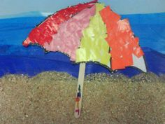 Sombrilla Tapas, Star Painting, Water Play, Summer Crafts, Summer Beach, Cool Kids, Art For Kids, Banner, Arts And Crafts