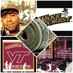 "3/10/15 NCAAB #MarchMadness : #VirginiaTech #Hokies vs #WakeForest #DemonsDeacons (Take: Hokies +4.5,Over 139.5) (THIS IS NOT A SPECIAL PICK ) ""The Sports Bettors Almanac"" SPORTS BETTING ADVICE  On  95% of regular season games ATS including Over/Under   1.) ""The Sports Bettors Almanac"" available at www.Amazon.com  2.) Check for updates   My Sports Betting System Is an Analytical Based Formula   ""The Ratio of Luck""  R-P+H ±Y(2)÷PF(1.618)×U(3.14) = Ratio Of Luck  Marlawn"