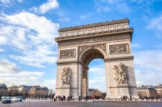 Arco del Triunfo | Triumph arch #paris #travel #viajar #turismo #sights www.viveparis.es