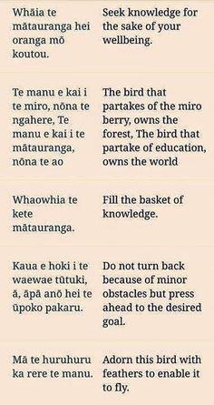 Whakatauki