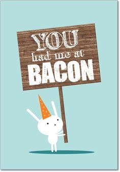 @Debbie Bacon, you had me at bacon.....hehehe