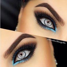 I'm so speechless to this look beautiful Pretty Eye Makeup, Makeup Eye Looks, Smokey Eye Makeup, Gorgeous Makeup, Skin Makeup, Eyeshadow Makeup, Eye Makeup Steps, Makeup Tips, Beauty Makeup