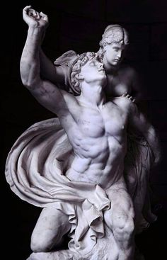REINHOLD BEGAS, MERCURY AND PSYCHE, 1857.LEUC