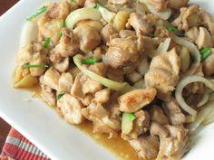Miso Chicken stir-fry