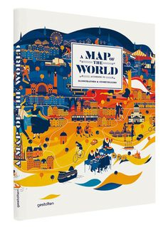 A Map of the world illustrated map book