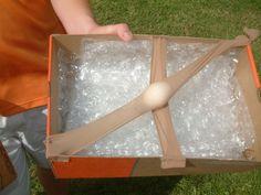 Egg Drop Project Idea.