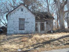 Abandoned house, Mayview, Missouri, by Kerri George