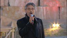 Andrea Bocelli - Nasceu para cantar e encantar.