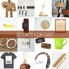 Gift Guide: 20 Wood-Themed Gifts For Dad