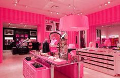 Victoria's Secret closet why not there can never be too much barbie dream house little girl in me :)