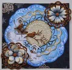 Cheery Lynn Designs Challenge 99 - Die Cut Flowers - Cheery Lynn Designs Blog