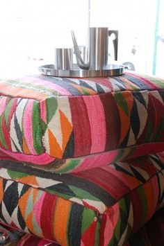 Hot Moon Collection, Moroccan Poufs