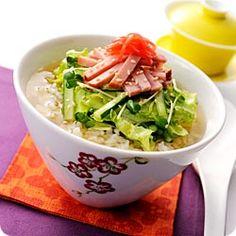 Maggi 焼豚とレタスの中華風ベジ茶漬け(ネスレ日本 マギー)