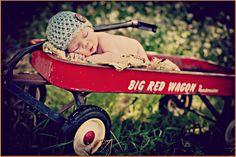 Newborn Baby Boy...have jakes wagon n him pullin it, or him drivin his tractor with jett in wagon....or put jett in dump truck n let jake play with the truck