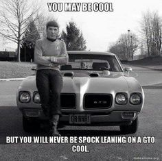 Spock cool