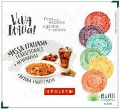 A campanha 'Viva Itália' do Spoleto traz opções que vão te deixar com água na boca.  Dá ou não dá vontade de devorar essa imagem?