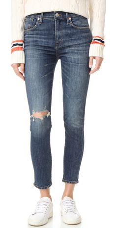 AGOLDE Sophie High Rise Skinny Crop Jeans | SHOPBOP SAVE UP TO 25% Use Code: EVENT17