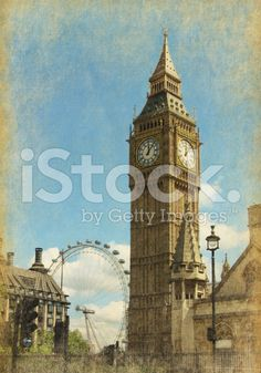 View from Abingdon street. Photo in grunge and. Big Ben London, Red Bus, Uk Photos, Image Now, Royalty Free Stock Photos, Colour, Street, Travel, Color
