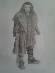 Thorin Oakenshield, I hope you like it. (I drew it.)