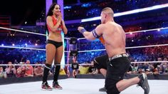 John Cena proposes to Nikki Bella WrestleMania 33: April 2nd 2017