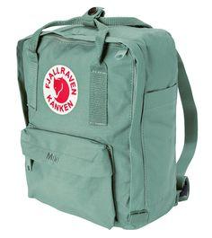 Kanken mini backpack -frost green